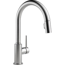 1 Lever Handle TRINSIC Pull-Down Kitchen Faucet Arctic Stainless