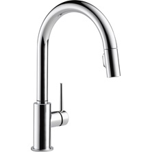 1 Lever Handle TRINSIC Pull-Down Kitchen Faucet Chrome
