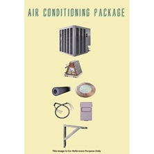 2 Ton Weatherking Air Conditioning Package with Aluminum Brackets - Piston Type - WA132PB