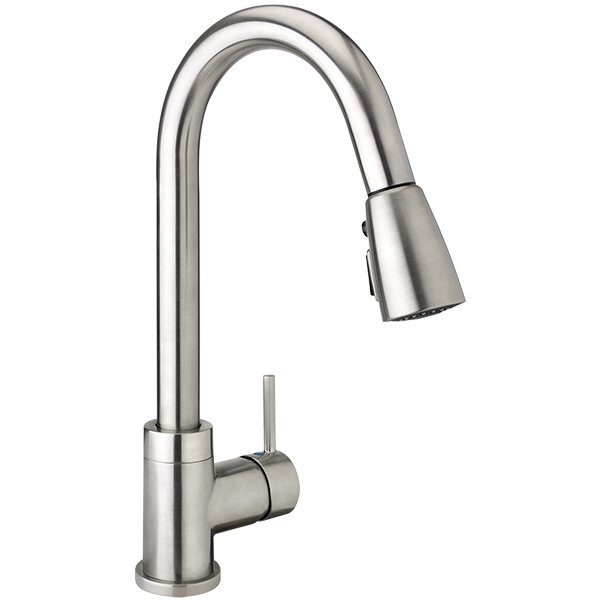 H2flo Urbania Kitchen Sink Faucet With Pull Down Spout 1 Handle