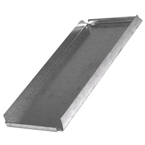 "8"" x 18"" Galvanized Block End # 493"