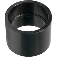 "ABS Coupling, 1-1/2"" HxH DWV"