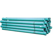 "SDR Pipe, 8"" x 13' DR35 Green RING-TITE"