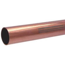 "Copper Pipe 1/2"" x 12' Water Type L Hard"