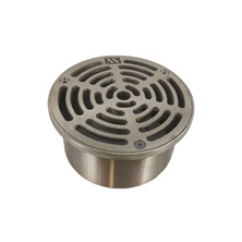 "A5-1, 5"" Nickel Bronze Strainer For Drain, Threaded"