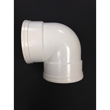 "8"" (200mm) GxG DR35 PVC 90 Degree Elbow BDS"