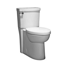 STUDIO White 4.8L Toilet Tank With Chrome Lever Handle