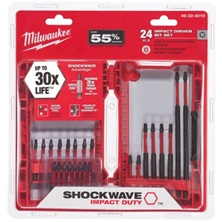 SHOCKWAVE Bits 24-Piece For Impact Driver