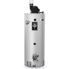 45 Gallon Natural Gas Combi, Power Vent, Double Wall Water Heater, CDW2-TW50T10FBN