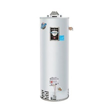 50 Gallon - 40,000 BTU Defender Safety System Atmospheric Vent Energy Saver Residential Water Heater - NG - RG250L6N
